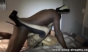 Hotwife gets fucked perfectly her holes by a BBC