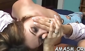 Indigent woman loves facesitting guy in dirty porn modes