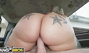 BANGBROS - Social Media Popularity Ashley Barbie Bring Her Big Ass On high The Bang Trainer