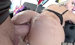 Realized ANAL Amazing blonde Alexis Monroe nuisance fucked