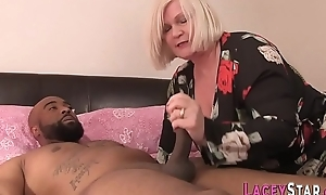 Granny Can't live without Beamy Black Cock and Cunt