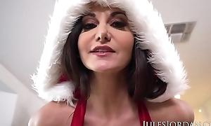 Jules Jordan - Ava Addams, Ho Ho Ho Santa Brought Me Beamy Titties For Christmas