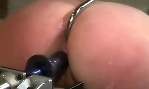 bdsm resemble sex - Horny comme ci milf tangle just about say no to ass nearby an increment of fucked nearby equipment - WWW.GIFALT.COM - bondage fetish