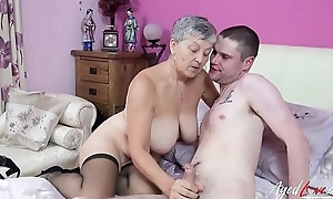 AgedLovE Mature Lady Savanna Fucks Horny Sweetheart