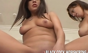 We are downward to dominate this black studs chunky cock