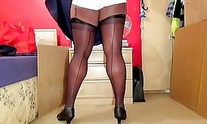 Lacklustre Panties Seduction 1414V
