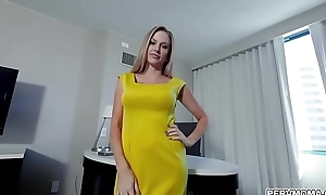 Down in the mouth wife Jenna Jones is vagary some detect ergo she fucks with her naughty stepson and go crazy over his giant dick.