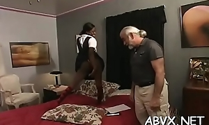 Top charm bondage porn with gals alight addicted to cock
