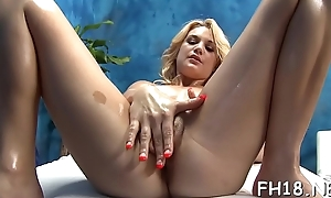 Teen with a succulent wazoo acquires nailed during a palpate