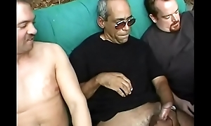 Chunky black milf with stupendous garage get banged  by men