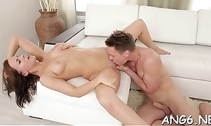 Cosset is contagious studs craves with dissolute penis riding